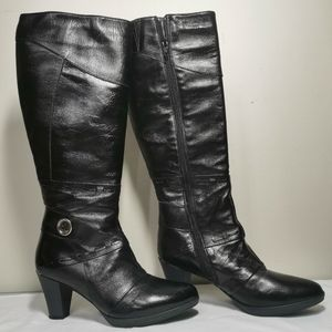 Italconfort Knee High Leather Boots